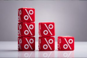 Red % Dice In # Separate Stacks