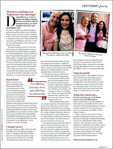 Life Today Segment And Article Clipping In Essentials Magazine