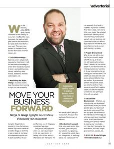 Move Your Business Forward Advertorial In The Crest