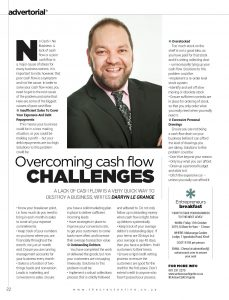 Overcoming Cash Flow Challenges Article In The Crest Magazine