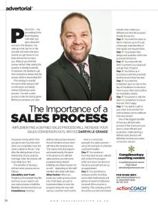 The Importance Of A Sales Process Advertorial In The Crest