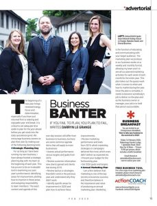 Business Banter Article In The Crest Magazine